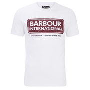 Barbour International Men's Logo T-Shirt - White