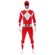 Morphsuit Power Rangers Red Ranger - Volwassene