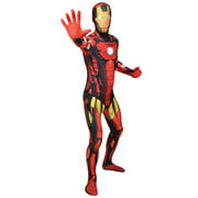 Morphsuit Marvel Iron Man - Volwassene