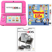 Nintendo 3DS XL Pink + Tomodachi Life Pack
