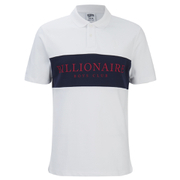 Billionaire Boys Club Men's Monaco Polo Shirt - White/Navy