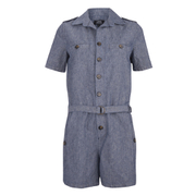 A.P.C. Women's Jane Playsuit - Indigo