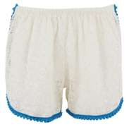 Paolita Women's Venetian Lace Shorts - Cream