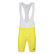 Le Coq Sportif Performance Classic N2 Bib Shorts - Yellow