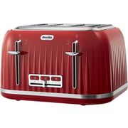Breville VTT783 Impressions Collection Toaster - Red