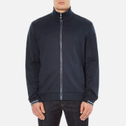 BOSS Green Men's Skaz Zipped Sweatshirt - Navy