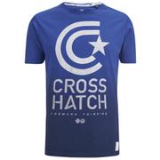 Camiseta Crosshatch Carinae - Hombre - Azul intenso