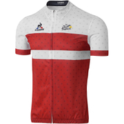 Le Coq Sportif Men's Tour de France Dedicated Short Sleeved Jersey 2016 - Red