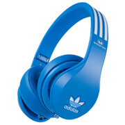 adidas Originals by Monster Kopfhörer (3-Tasten ControlTalk & Passive Noise Cancellation) - Blau