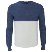 Scotch & Soda Men's Lightweight Sweatshirt - Navy/White