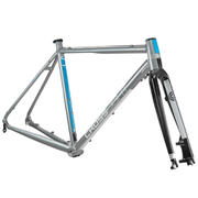 Kinesis Crosslight 5T Disc Frameset - Steel Grey