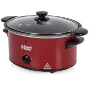 Russell Hobbs 22741 Slow Cooker - Red