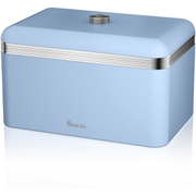 Swan SWKA1010BLN Retro Bread Bin - Blue