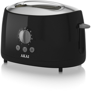 Akai A20001B 2 Slice Cool Touch Toaster - Black