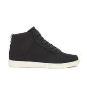 Crosshatch Men's Borneo High Top Trainers - Black