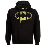 Sweat à Capuche logo coulant Batman DC Comics Hommes - Noir