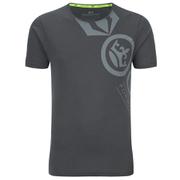 Crosshatch Men's Pacific Print T-Shirt - Magnet