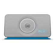 Bayan Audio Soundbook X3 Portable Wireless Bluetooth and NFC Speaker & Radio - Silver