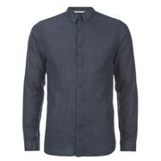 Selected Homme Men's Donenelson Long Sleeve Shirt - Dark Sapphire