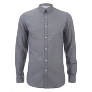 Selected Homme Men's One Christian Long Sleeve Shirt - Dark Sapphire