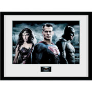 DC Comics Batman v Superman Dawn of Justice City - 16 x 12 Inches Framed Photographic