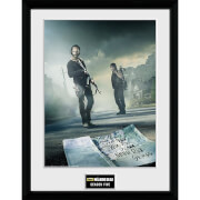 The Walking Dead Season 5 - 16 x 12 Inches Framed Photographic