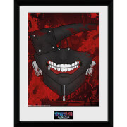 Tokyo Ghoul Mask - 16 x 12 Inches Framed Photographic