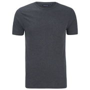 Brave Soul Men's Arkham Pocket T-Shirt - Dark Charcoal