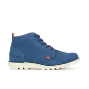 Bottines en Daim Kickers Kick Hisuma - Bleu
