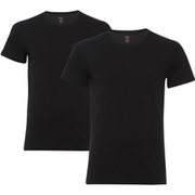 Levi's Men's 2-Pack Crew Neck T-Shirt - Black