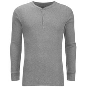 Levi's Men's Long Sleeve Grandad Top - Grey Marl