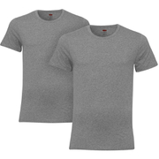Levi's Men's 2-Pack Crew Neck T-Shirt - Grey Marl