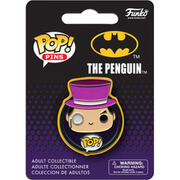 DC Comics Batman Penquin Badge Pop! Pin