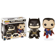 DC Comics Batman v Superman Metallic Double Pack EXC Pop! Vinyl Figure