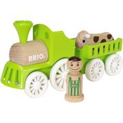 Brio Farm Train Set