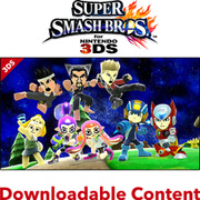 Super Smash Bros. for Nintendo 3DS - Mii Fighter Costume Bundle No.2 DLC