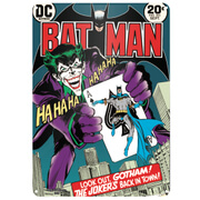 DC Comics Batman The Joker Large Tin Sign (29.7cm x 42cm)