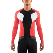 Skins Cycle Men's Tremola Due Long Sleeve Jersey - Black/White/Red