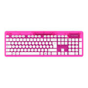 Clavier sans fil Rock Candy -Rose