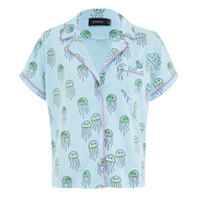 MINKPINK Women's You Jelly Button Front Shirt - Multi