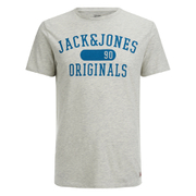 Jack & Jones Herren Seek T-Shirt - Treated Weiß