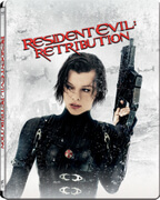 Resident Evil : Retribution 3D (+ 2D) - Steelbook Exclusivité Zavvi