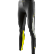 Skins DNAmic Women's Long Tights - Black/Limoncello