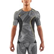 Skins DNAmic Men's Short Sleeve Top - Broken Maze
