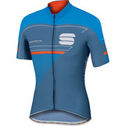 Sportful Gruppetto Pro Race Short Sleeve Jersey - Blue/Red