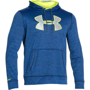 Under Armour Men's Storm Armour Fleece Big Logo Twist Hoody - Blue