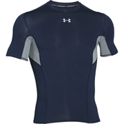 Under Armour Men's HeatGear CoolSwitch Compression Short Sleeve Shirt - Navy Blue