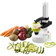 Elgento E19021 Electric Spiralizer and Peeler - White