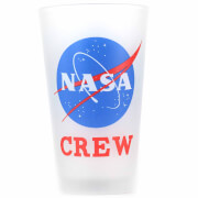 NASA Crew Drinking Glass - Large