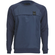 4Bidden Men's Enforce Crew Neck Sweatshirt - Navy